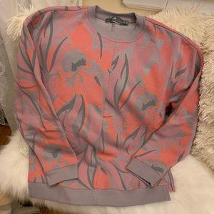 Stella McCartney adidas sweatshirt xs gray pink